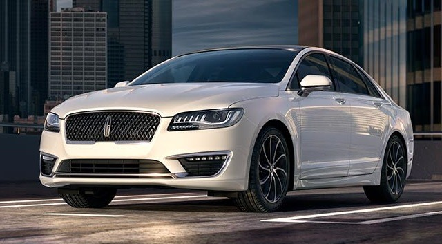 2017 Lincoln MKZ - front