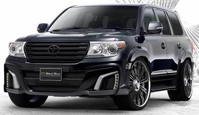 2017 Toyota Land Cruiser - front