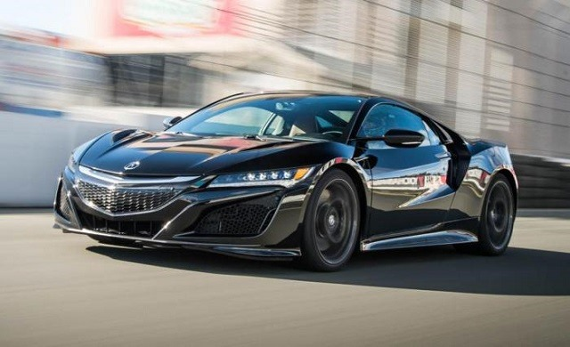2017 Acura NSX - front