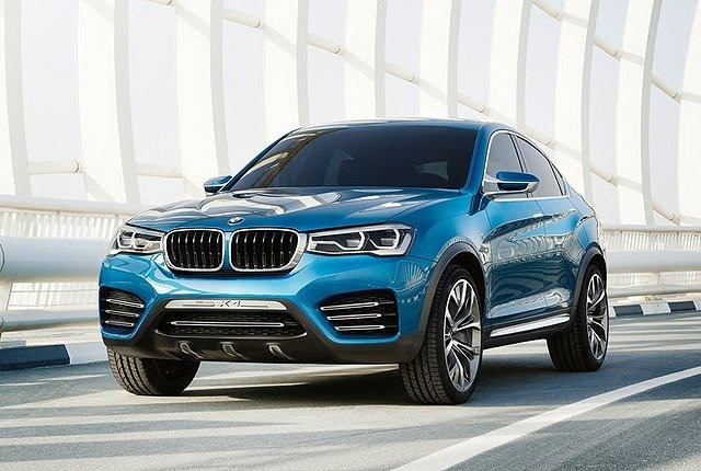 2017 BMW X2 - front