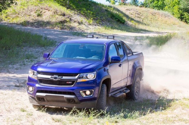 2017 Chevrolet Colorado Z72 - front