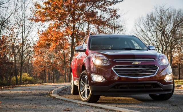 2017 Chevy Equinox front