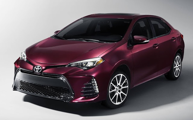 2017 Toyota Corolla - front
