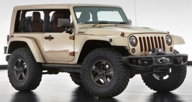 2017 Jeep Wrangler - front