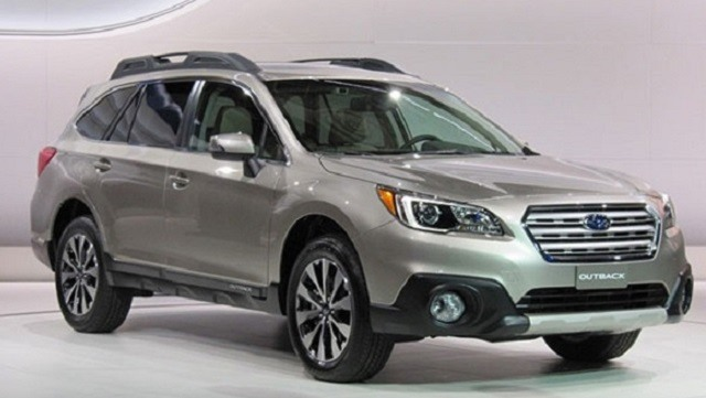 2017 Subaru Outback - front