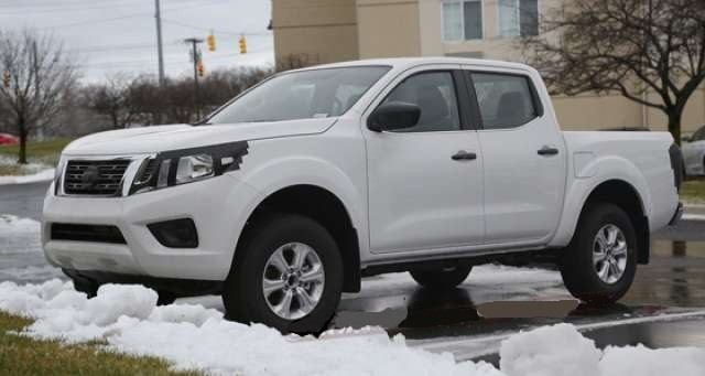 2018 Nissan Frontier - front
