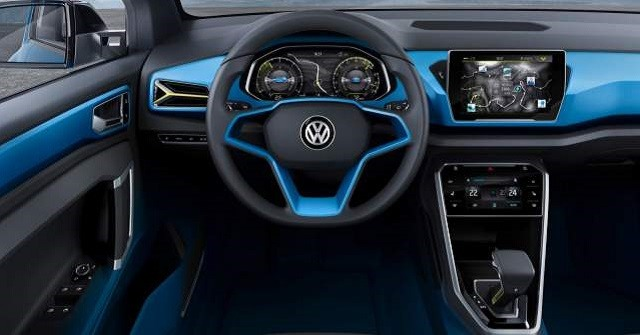 2018 VW Golf SUV - interior