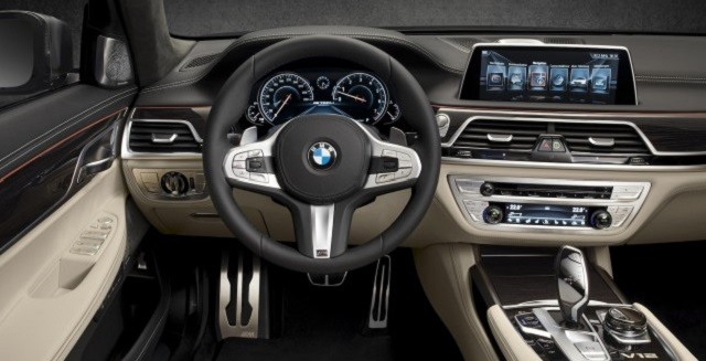 2017 Bmw 7 Series Front