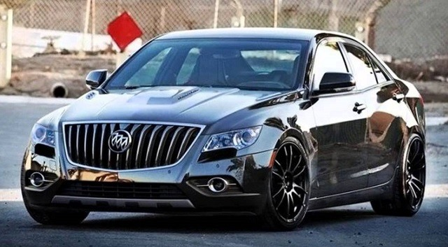 2017 Buick Regal Front