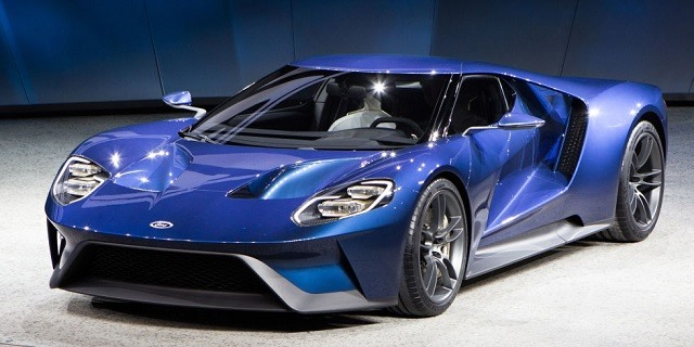 2017 Ford GT - front
