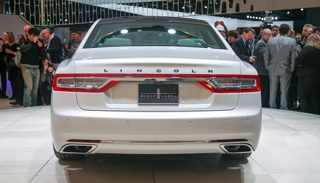 2017 Lincoln Continental - rear