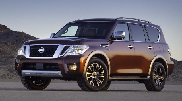 2017 Nissan Armada - front
