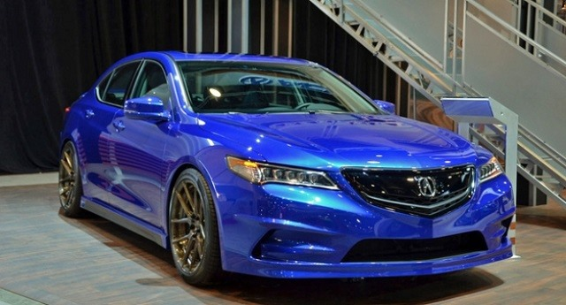 2017 Acura TLX - front