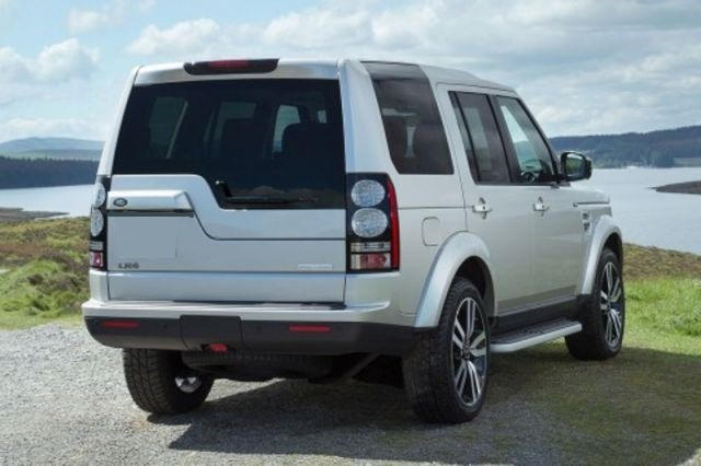 2017 Land Rover Discovery LR4 - rear