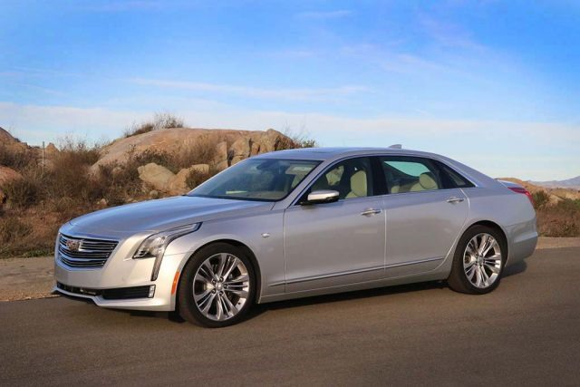 2017 Cadillac CT6 - front