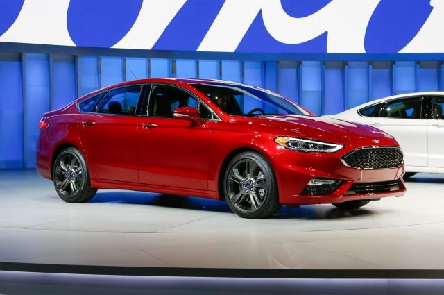 2017 Ford Fusion - front