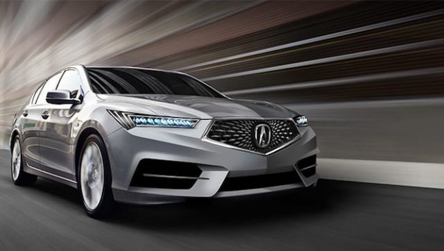 2017 Acura RLX - front