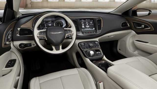 2017 Chrysler Town and Country - interior