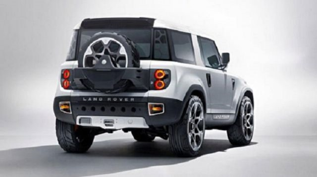 2017 Land Rover Defender - rear