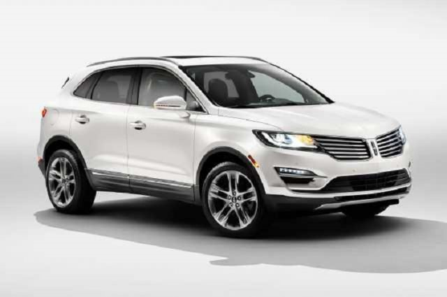 2017 Lincoln MKC - front