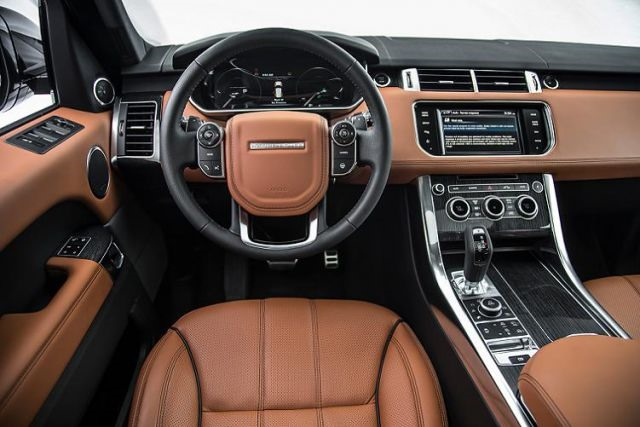 2017 Land Rover Defender - interior
