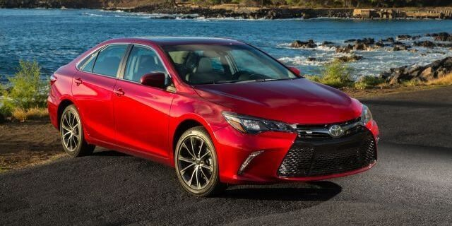 2017 Toyota Camry - front