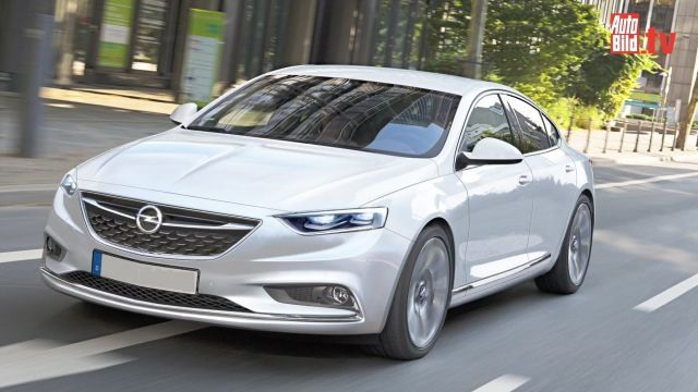 2017 Opel Insignia - front