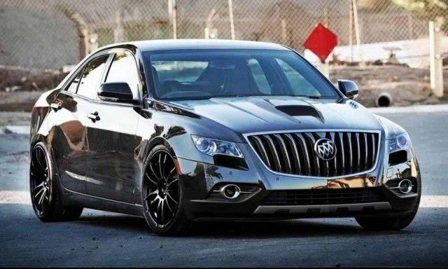 2018 Buick Grand GNX - front