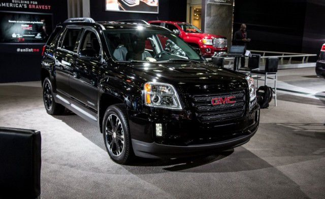 2018 GMC Terrain Nightfall Edition - front