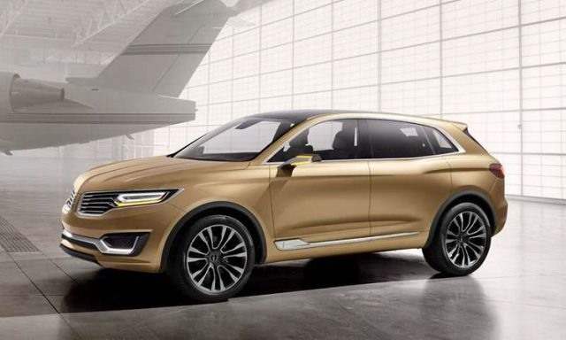 2018 Lincoln MKX - front
