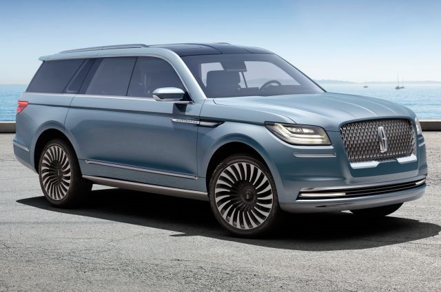 2018 Lincoln Navigator - front