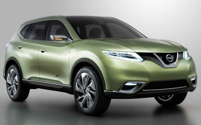 2018 Nissan Rogue Hybrid - front