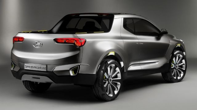 2018 Hyundai Santa Cruz - rear