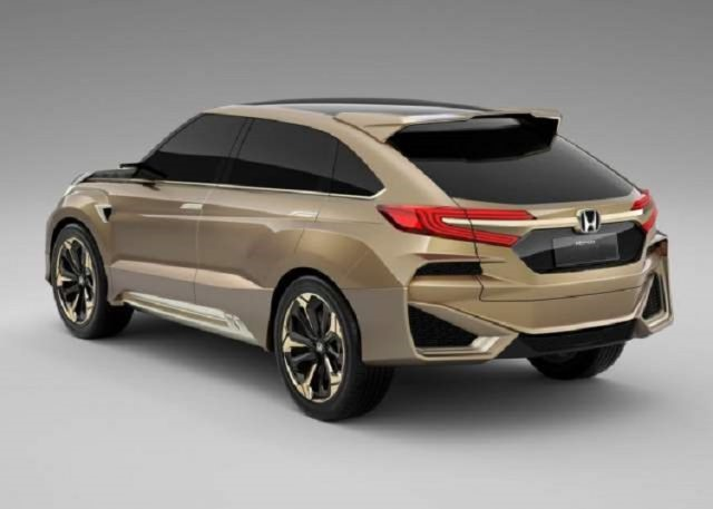 2018 Honda Crosstour - rear