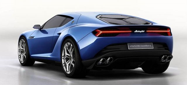 2018 Lamborghini Asterion - rear