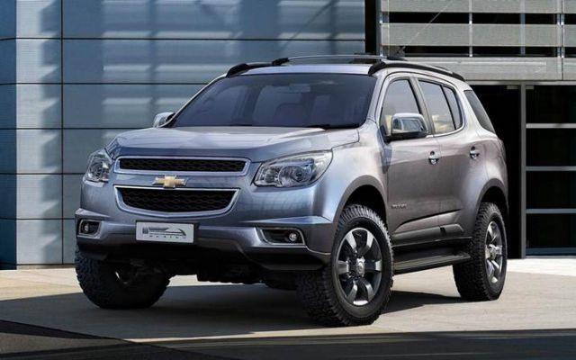 2018 Chevrolet Trailblazer - front