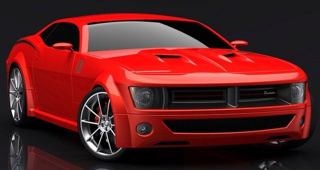 2018 Dodge Barracuda - front