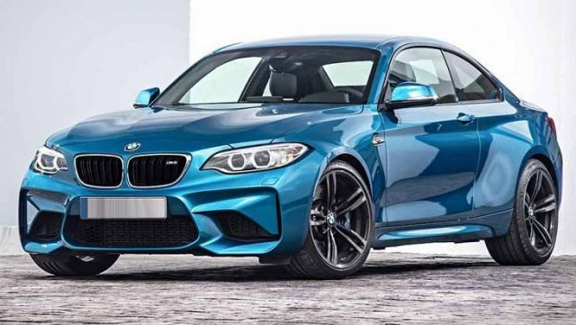 2018 BMW M2 - front