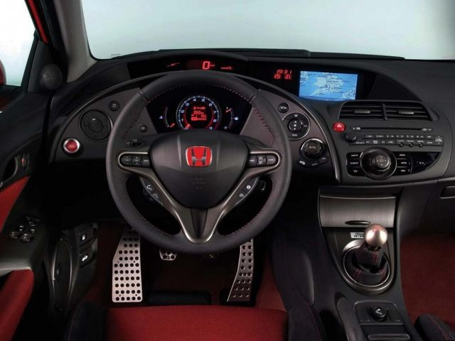 2018 Honda Civic Si Coupe - interior