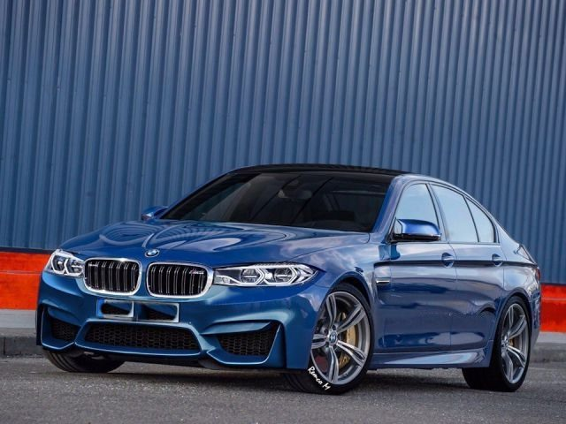 2018 BMW M5 - front