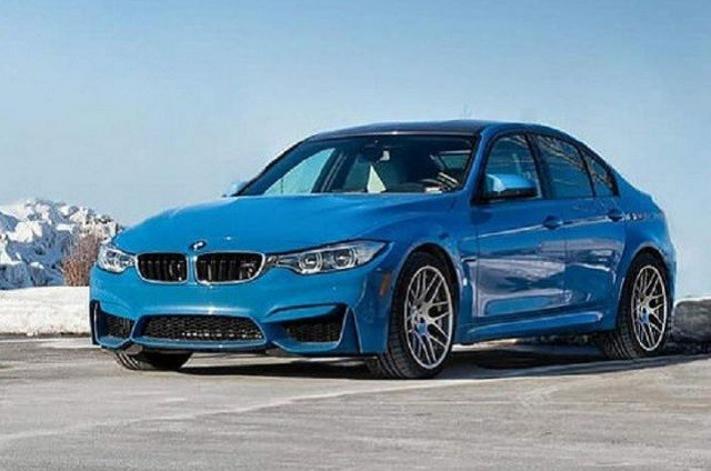 2018 BMW M3 - front