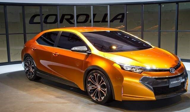 2018 Toyota Corolla - front