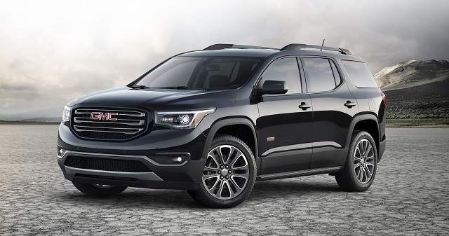 2018 GMC Acadia All Terrain - front