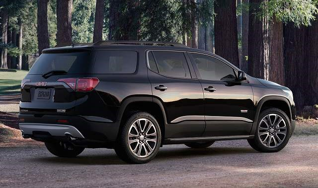 2018 GMC Acadia All Terrain - rear