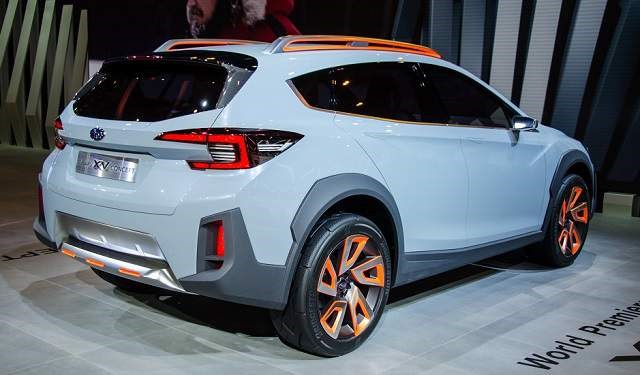 2018 Subaru Crosstrek - rear