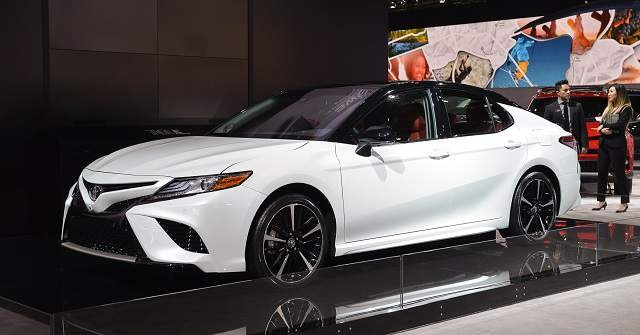 2018 Toyota Camry - front