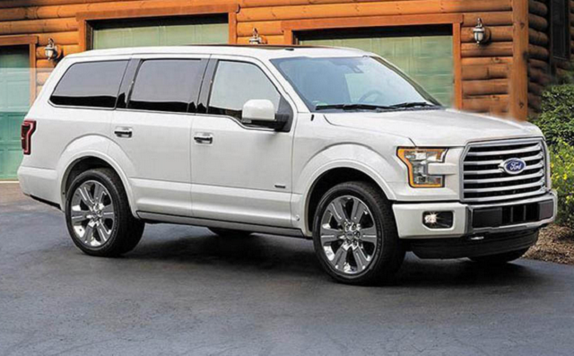 2018 Ford Expedition - front