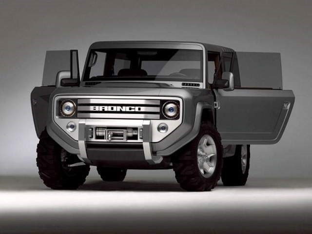 2020 Ford Bronco - front
