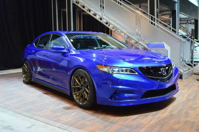 2018 Acura TLX Hybrid - front