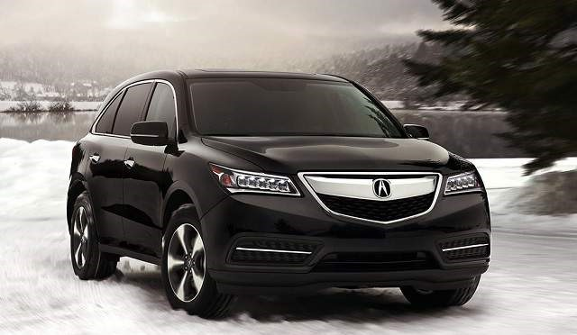 2018 Acura MDX - front